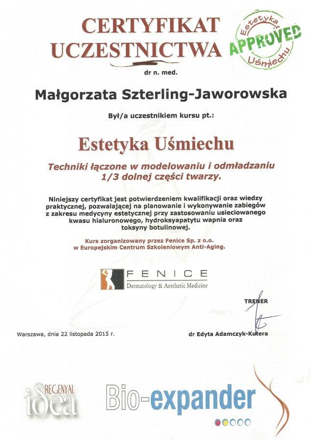 dr n. med. Małgorzata Szterling-Jaworowska