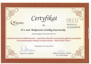 Certyfikat - zaawansowane techniki łączone
