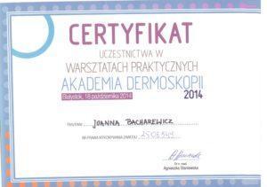 Certyfikat - warszaty praktyczne