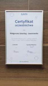 certyfikat Restylane szkolenie