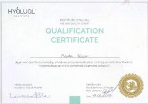 Certyfikat kwalifikacyjny